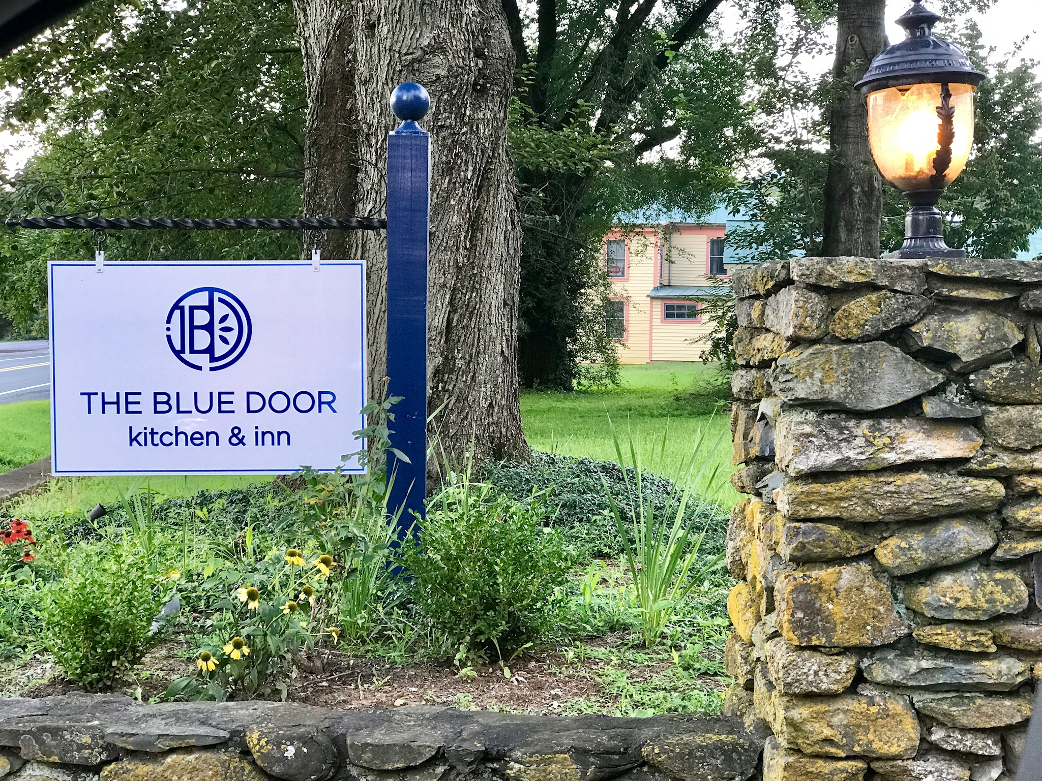 learn about our event space the blue door gazebo - Blue Door Kitchen